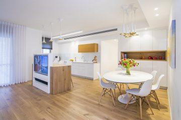 דירת 5 חדרים בעיצוב מודרני צעיר