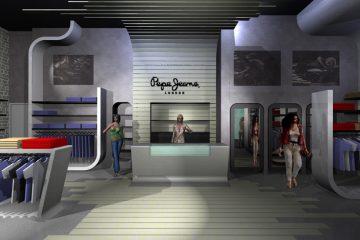 """חנות פפה ג'ינס, ת""""א"""