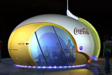 עמדה אינטראקטיבית, קוקה-קולה
